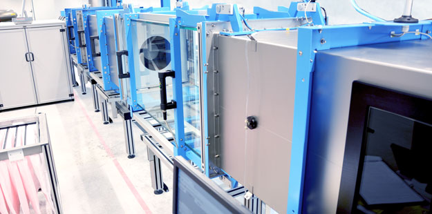 ISO 16890 Teststand bei HS-Luftfilterbau GmbH