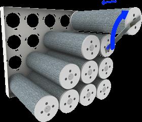 Gasfiltration Molecular Filtration Activated Carbon